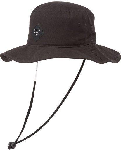 0 Big John Safari Hat Black MAHW1BBI Billabong
