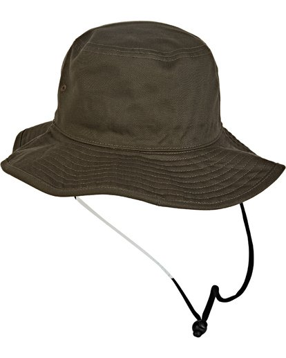 2 Big John Safari Hat Brown MAHW1BBI Billabong