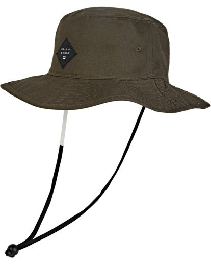 1 Big John Safari Hat Brown MAHW1BBI Billabong