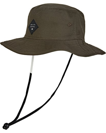 0 Big John Safari Hat Brown MAHW1BBI Billabong