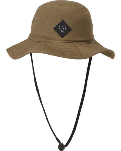 3 Big John Safari Hat Grey MAHW1BBI Billabong