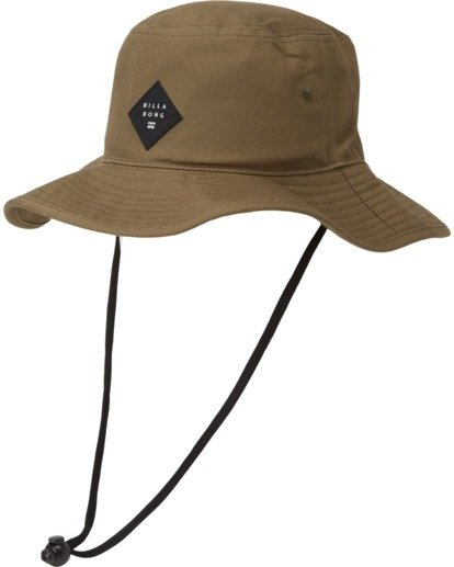 1 Big John Safari Hat Grey MAHW1BBI Billabong