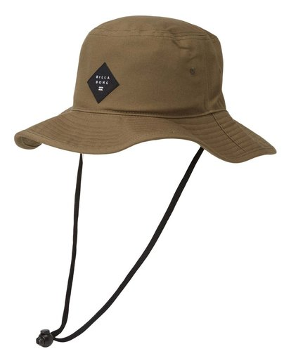 0 Big John Safari Hat Grey MAHW1BBI Billabong