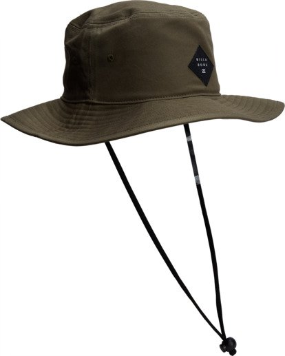 2 Big John Safari Hat Grey MAHW1BBI Billabong