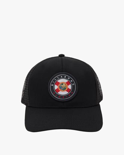 1 Native Trucker Hat Multicolor MAHW1BCR Billabong