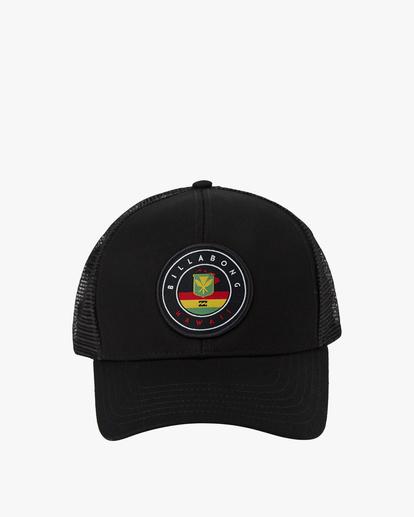 1 Native Trucker Hat Orange MAHW1BCR Billabong