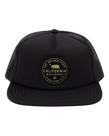 1 California Trucker Hat Black MAHW1BDR Billabong