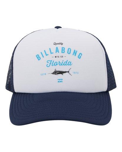 1 Fish On Florida Hat Blue MAHW1BFR Billabong