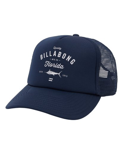 0 Fish On Florida Hat Blue MAHW1BFR Billabong