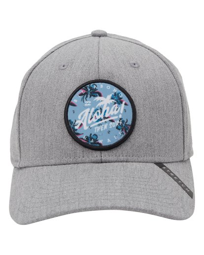 1 Aloha Stretch Hat Grey MAHW1BKR Billabong