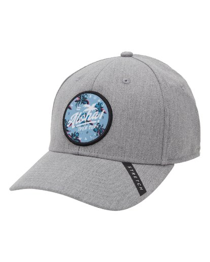 0 Aloha Stretch Hat Grey MAHW1BKR Billabong