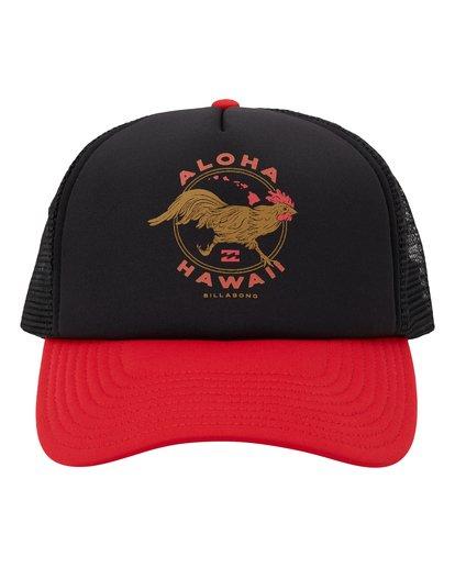 1 Vacay Trucker Hat Black MAHW1BLR Billabong