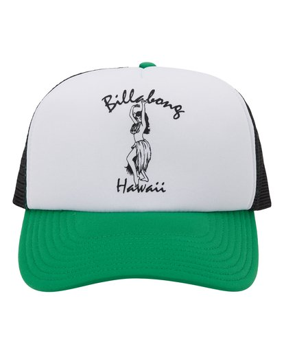 1 Vacay Trucker Hat Green MAHW1BLR Billabong