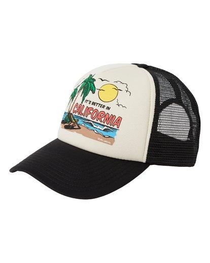 0 Vacay Trucker Hat Beige MAHW1BLR Billabong