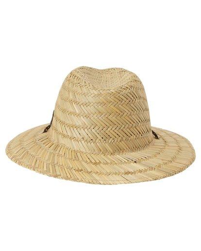 3 Nomad Straw Hat White MAHW1BNO Billabong
