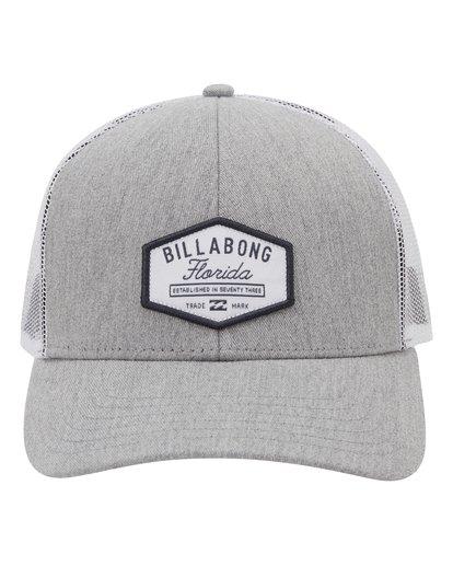 1 Walled Destination Trucker Hat Grey MAHW1BPR Billabong