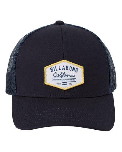 1 Walled California Trucker Hat Blue MAHW1BPR Billabong
