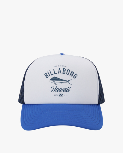 1 Vacay Trucker Hat White MAHW1BQR Billabong