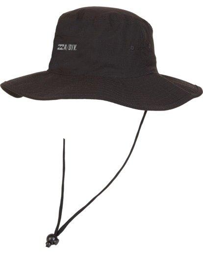 1 Adiv Sun Safari Hat Black MAHW1BSH Billabong
