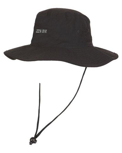 0 Adiv Sun Safari Hat Black MAHW1BSH Billabong