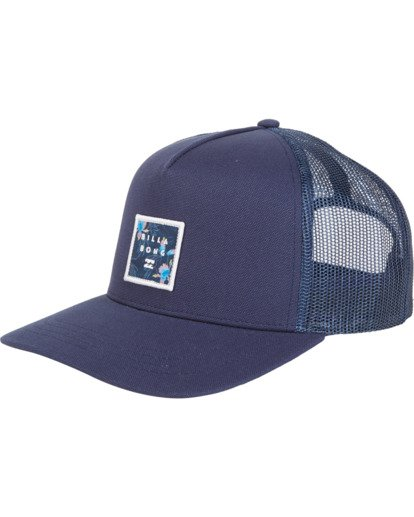 1 Stacked Trucker Blue MAHW1BST Billabong