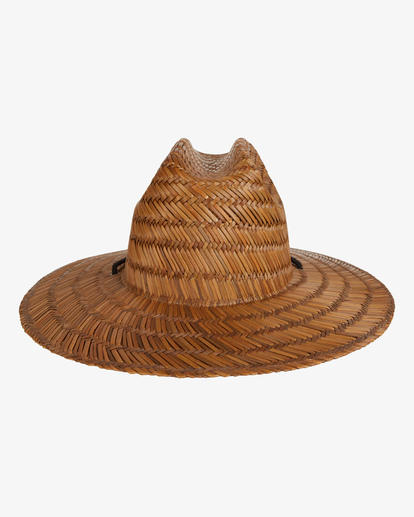2 Tides Straw Lifeguard Hat Brown MAHW1BTI Billabong
