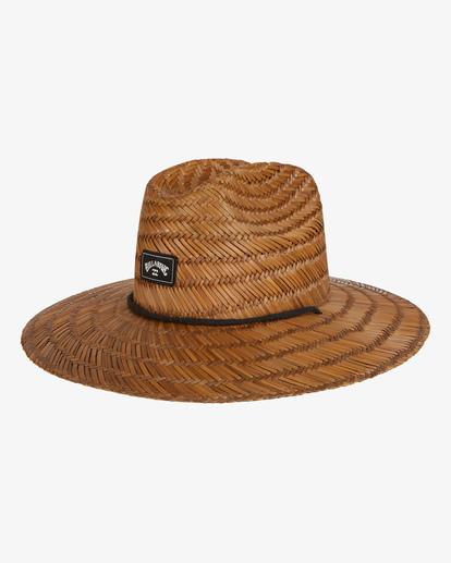 1 Tides Straw Lifeguard Hat Brown MAHW1BTI Billabong