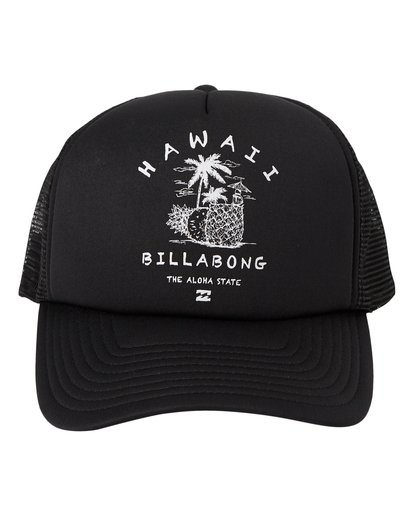 1 Welcome Hawaii Hat Black MAHW1BWR Billabong