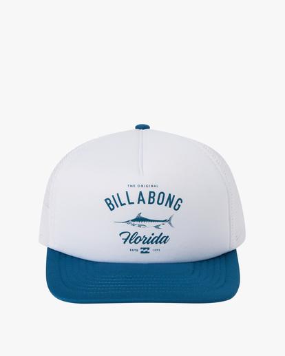 1 Florida Trucker Hat Blue MAHW1BXR Billabong