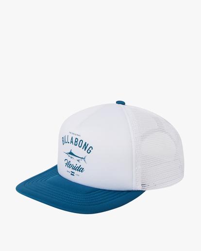 0 Florida Trucker Hat Blue MAHW1BXR Billabong