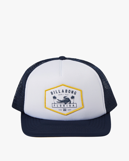 1 Florida Trucker Hat Blue MAHW1BXR Billabong