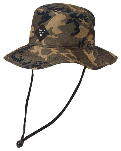 0 Big John Print Hat Black MAHW2BBP Billabong