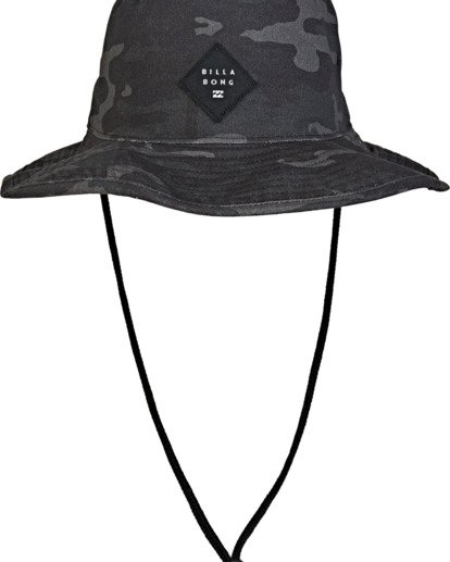 2 Big John Print Hat Grey MAHW2BBP Billabong