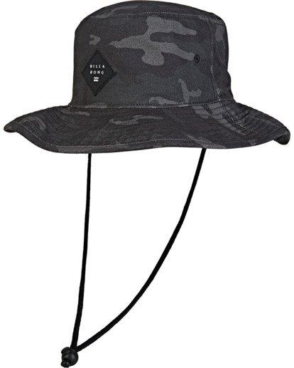 1 Big John Print Hat Grey MAHW2BBP Billabong