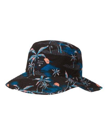0 Big John Print Hat Blue MAHW2BBP Billabong