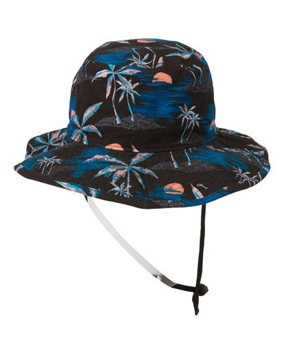 2 Big John Print Hat Blue MAHW2BBP Billabong