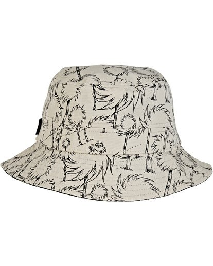 2 Truffula Reversible Sun Hat Black MAHW2BTF Billabong