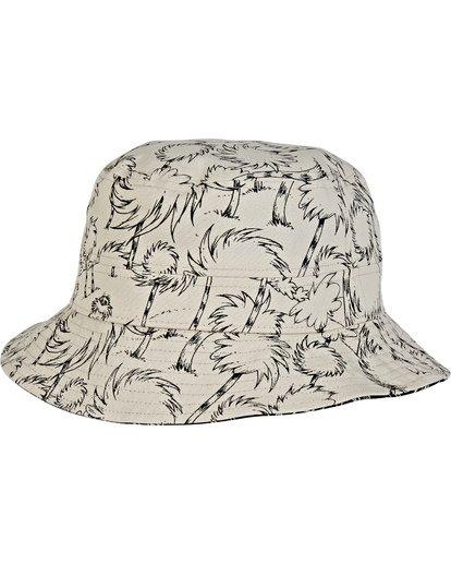 3 Truffula Reversible Sun Hat Black MAHW2BTF Billabong