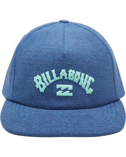 1 Wallie Snapback Hat Blue MAHW2BWR Billabong