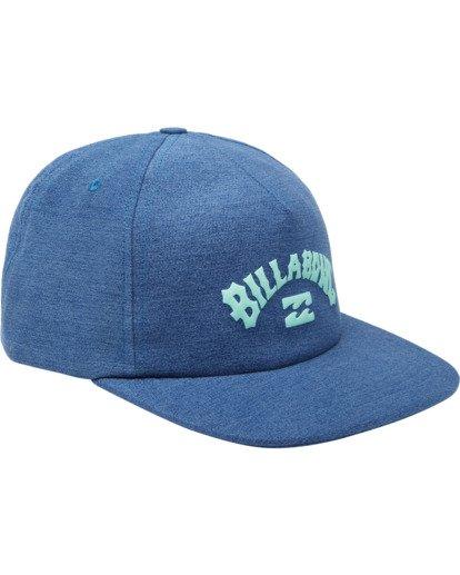 2 Wallie Snapback Hat Blue MAHW2BWR Billabong