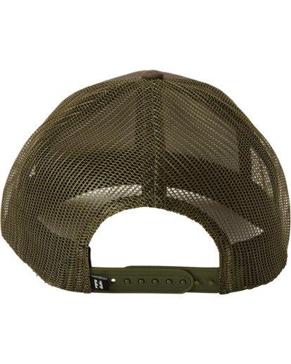 3 A/Div Walled Trucker Hat Grey MAHW3BAD Billabong