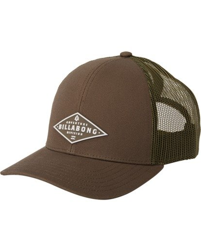 1 A/Div Walled Trucker Hat Grey MAHW3BAD Billabong