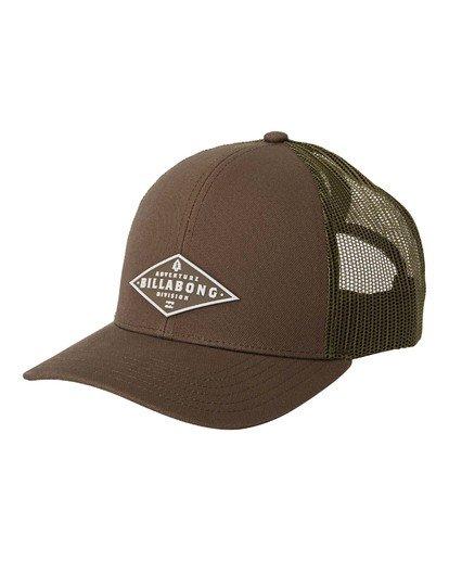 0 A/Div Walled Trucker Hat Grey MAHW3BAD Billabong