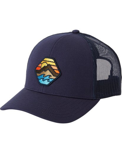 1 Walled Adiv Trucker Hat Blue MAHW3BAD Billabong
