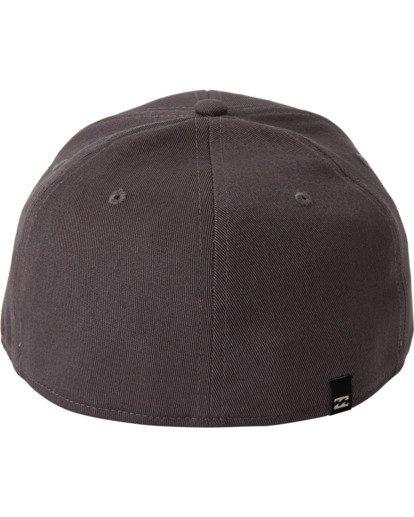 3 Arch Stretch Hat Grey MAHW3BAR Billabong