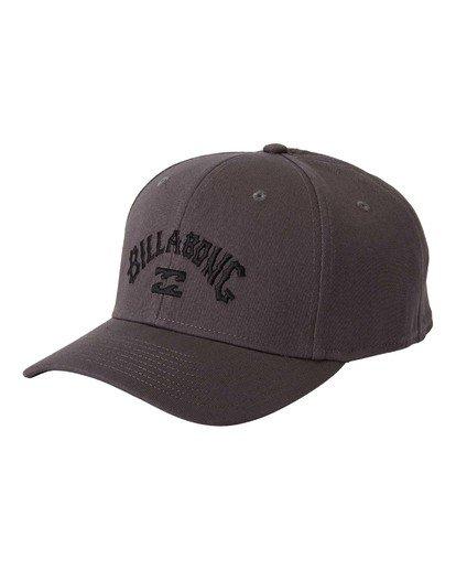 0 Arch Stretch Hat Grey MAHW3BAR Billabong