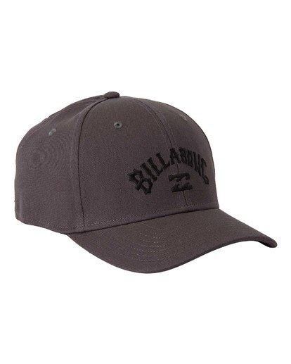 2 Arch Stretch Hat Grey MAHW3BAR Billabong