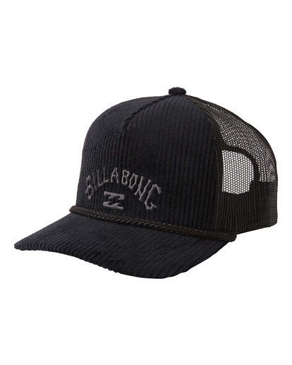 2 Arch Trucker Hat Black MAHW3BAT Billabong
