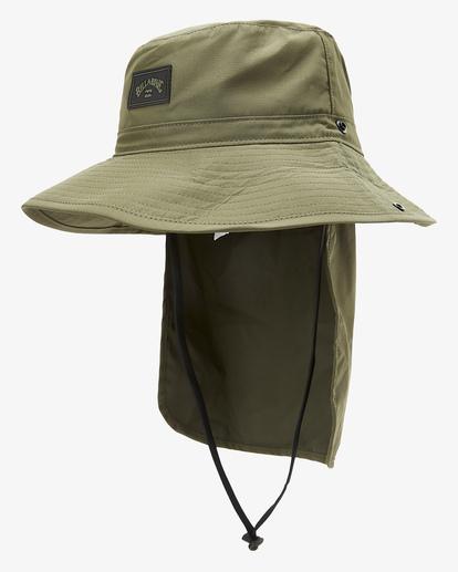 1 A/Div Big John Safari Hat Brown MAHW3BBA Billabong