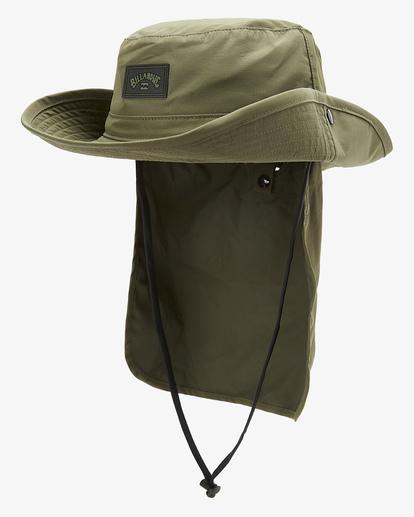 2 A/Div Big John Safari Hat Brown MAHW3BBA Billabong